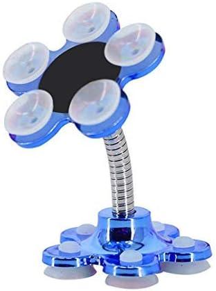 Soporte para tel/éfono m/óvil Giratorio de 360 FShop Soporte para tel/éfono m/óvil multifunci/ón con Ventosa de Doble Cara
