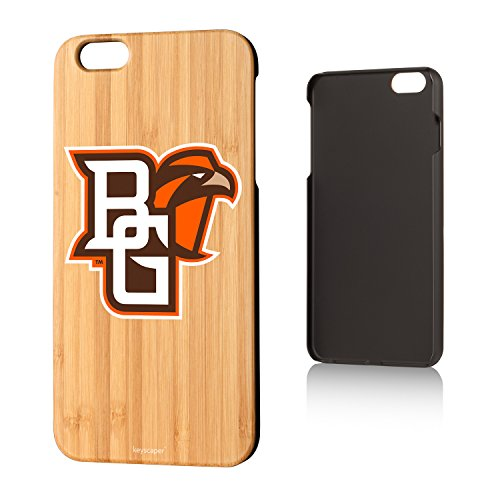Keyscaper Bowling Green Bamboo iPhone 6 Plus/iPhone 6s Plus Slim Case NCAA (Green Bowling Store Apple)