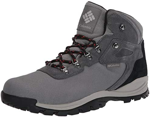 Columbia Men S Newton Ridge Lt Waterproof Hiking Boots Titanium Ii Rust Red 7 Regular Us Amazon Sg Fashion