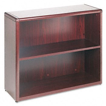 Hon 10700 Waterfall Edge - HON® 10700 Waterfall Edge Series Wood Bookcases BOOKCASE,2SHF,29X36X13,MY (Pack of2)