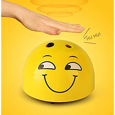FNCOMO Developmenta Toys Interactive Intelligent Cute Minions Runaway Electric Toys Remote Control with Shinning LED Light Lively Sound for Kids Cats Kittens Dogs Puppy: Health & Personal Care