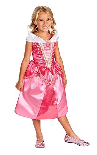 Aurora Sparkle Classic Girls Princess Costumes (Aurora Sparkle Classic Costume - Medium)