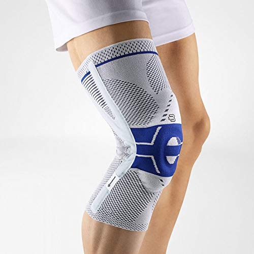 Bauerfeind - GenuTrain P3 - Knee Support - for Misalignment of The Kneecap - Left Knee - Size 2 - Color Titanium