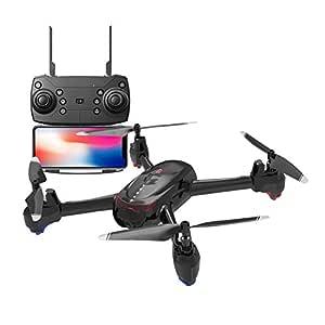 AHangcc Mini Drone RC WiFi FPV 3D Flips Cámara 4K HD Camara Selfie ...