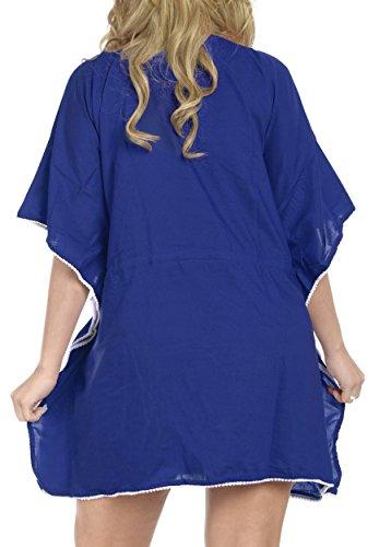 Costume Pi La Beachwear Da Profondo Collo Tutto Bagno Casual Tunica Rayon Abbigliamento Leggero Signore Salone Superiore In 1 Leela Ricamato Kimono Classico 1Rq7rHw1