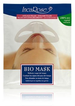 Inca Rose Bio máscaras Anti-Age Filler – Pack de 3