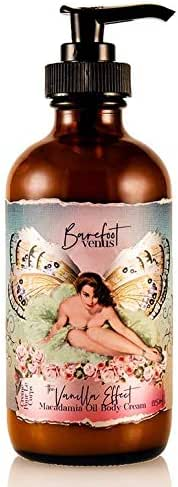 Barefoot Venus Macadamia Oil Body Cream body lotion 225 ML (The Vanilla Effect)