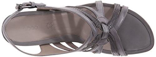 Ecco Chaussures Femmes Touch 45 Wedge Robe Sandale Titane