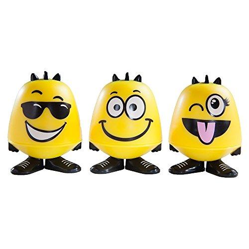 Emoji Goof Balms - Natural Kids Lip Balm + Moisturizing & Repair + Helps Prevent Cracked Lips + Strawberry Sorbet Chapstick + Fun Party Supplies + (6 Pack) by Goof Balms (Image #8)