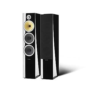 B&W CM9 - Altavoces (2.0 sistema, Piso, Reflex, speaker set unit, Incorporado, 25 mm) Negro
