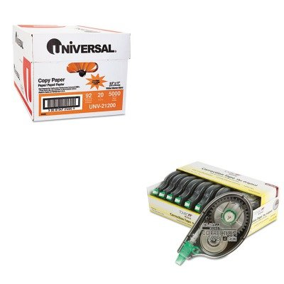 KITTOM68720UNV21200 - Value Kit - Tombow MONO Correction Tape (TOM68720) and Universal Copy Paper (UNV21200)