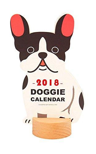 bulldog desk calendar - 1