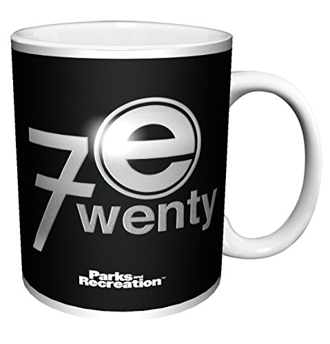 Parks and Recreation The 720 Logo Workplace Comedy TV Television Show Ceramic Gift Coffee (Tea, Cocoa) (11 oz C Handle Ceramic Mug)