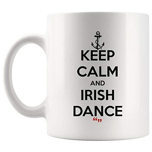 (Irish Dance Dancing Dancer World Dance Mug Coffee Cup | Funny Tea Beer Mugs Gift for Friend Office Sarcasm Quotes Meme Humor Joke)