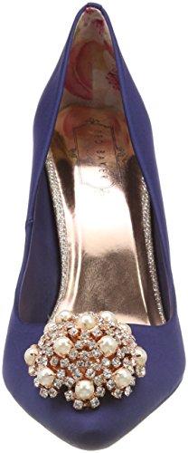 Femme Ted Peetch Navy Fermé Bleu Escarpins Bout Baker 2 v1qrwvY