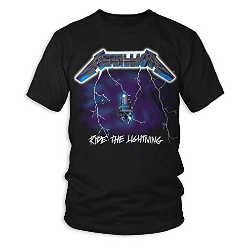 Metallica - Ride The Lightning - Two-Sided Adult T-Shirt - 2XL
