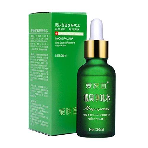 SANNYSIS 30ML Body Deodorizer Remove Odor Essence Underarm Feet Odor Water