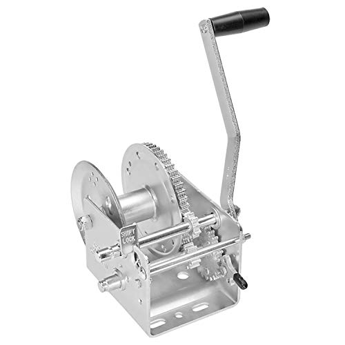 Fulton 142420 Dual Speed Winch-3200 lbs. Capacity