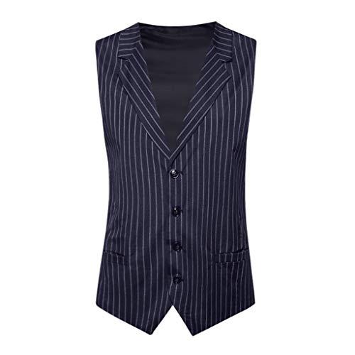 Men's Fashion Business Casual Wedding Waistcoat Tops Vest Jacket Top CoatWedding Waistcoat Tronet