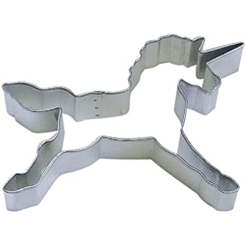 "R&M Unicorn 4.5"" Cookie Cutter in Durable, Economical, Tinplated Steel"