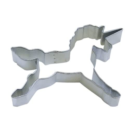 R&M Unicorn 4.5 Cookie Cutter in Durable Economical Tinplated Steel