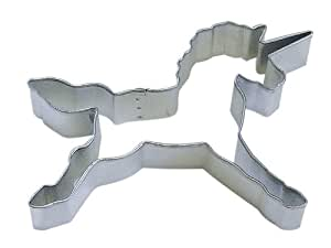 """R&M Unicorn 4.5"""" Cookie Cutter in Durable, Economical, Tinplated Steel"""