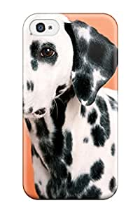 New Premium Dalmatian Skin Case Cover Excellent Fitted For Iphone 4/4s