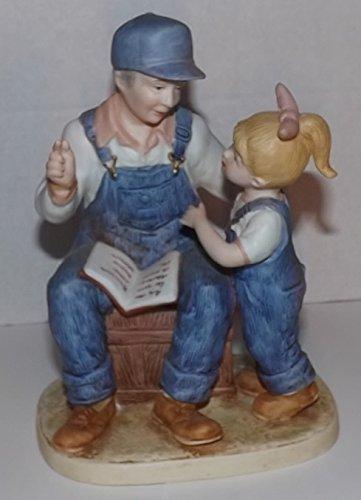 Denim Days Figurine - Denim Days Grandpa's Story #8894