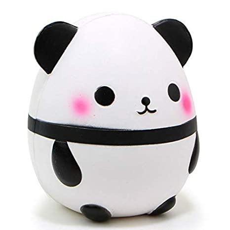 Collectibles Automobiles Jumbo Squishy Kawaii Panda Bear Egg Candy Soft Slow Rising Stretchy Squeeze Kid Toys Relieve Stress Phone Straps Children Gifts Traveling