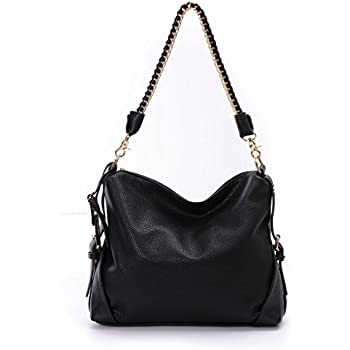 Amazon.com: DDDH Hobo Handbags Leather Purses Large Tote Shoulder ...