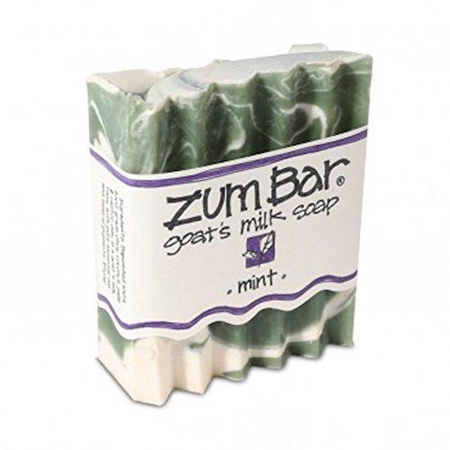 Indigo Wild Zum Bar Goat's Milk Soap Mint 3 oz