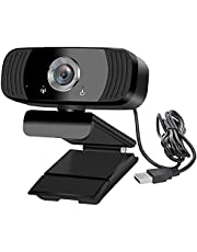 B3 1080P Full HD USB Webcam For Computer and Laptop| Built in Mic |30FPS |1920 x 1080