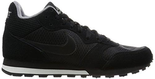 Grey Deporte Zapatillas black Negro 2 Mujer De Para Black Md Wmns Wht Runner smmt cool Nike Mid wg60Tqq