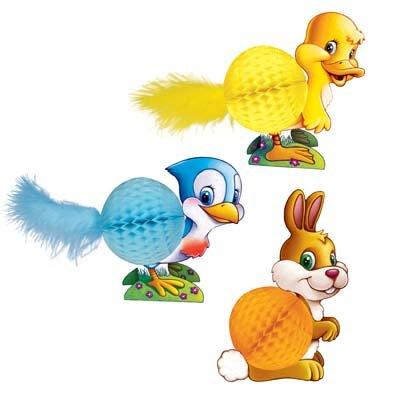Easter Playmates   (3/Pkg) ()