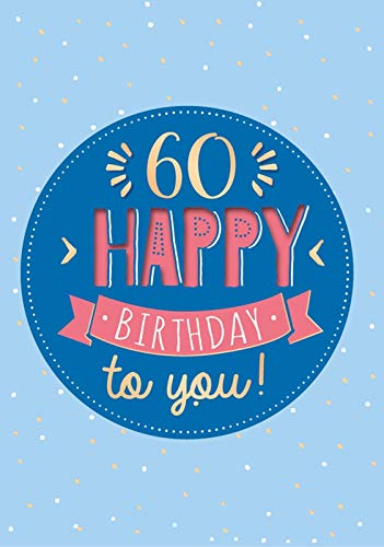 Tarjeta de felicitación de 60 cumpleaños, tarjeta de música ...