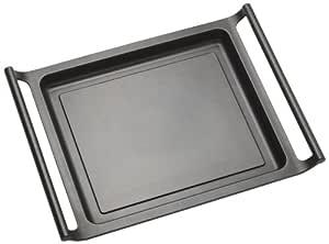 BRA Efficient - Plancha asador liso, 45 cm, aluminio fundido con ...