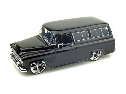 1957 Chevy Suburban 1/24 Black (Chevy Suburban Model compare prices)