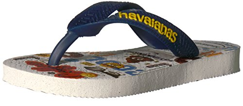 HavaianasKids Emoji Movie Sandal, White 29/30 BR/Little Kid (13/1 M - Kids White Havaianas
