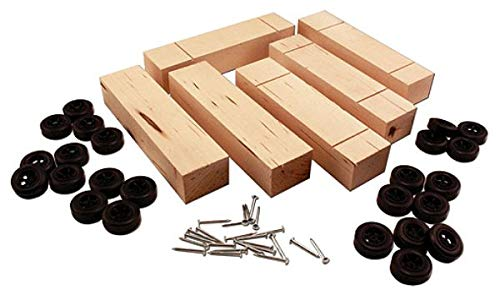Pinecar Basic Car Bulk Kit (6)