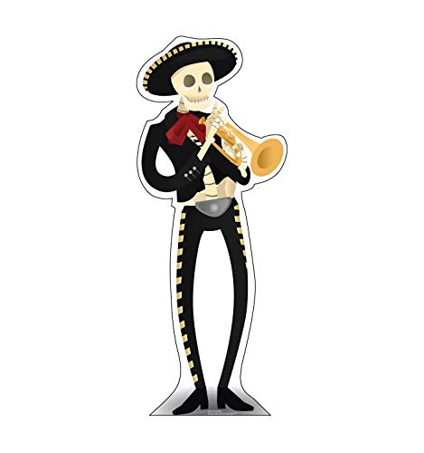 Advanced Graphics Day of The Dead Mariachi Life Size Cardboard Cutout Standup -