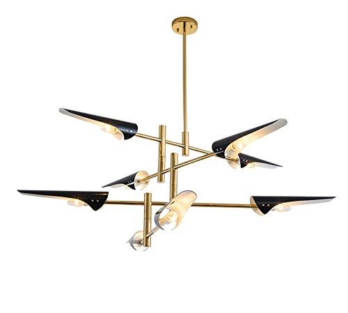 Mid Century Modern Ceiling Lighting Metal Adjustable Flush