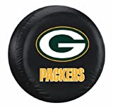 green bay packer tire cover - Green Bay Packers Black Tire Cover - Standard Size