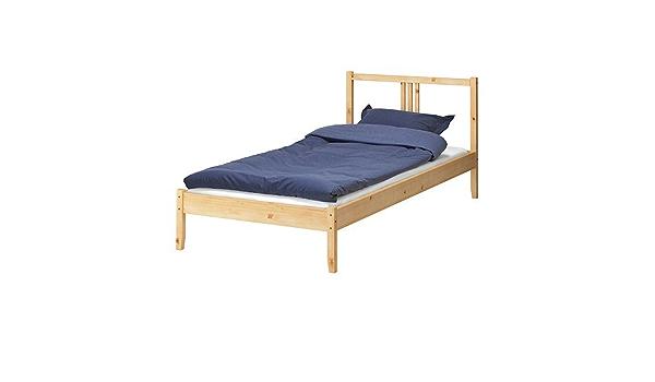 IKEA FJELLSE - Estructura de cama, pino, Lade - 90x200 cm