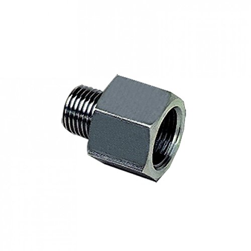 Male and Female R3//8 and G1//2 Parker 1861 17 21-pk20 Adaptor BSPT and BSPP 316L Stainless Steel Pack of 20