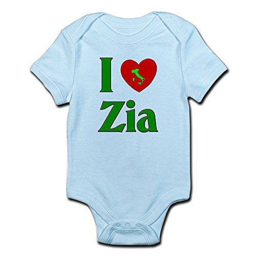 CafePress I (Heart) Love Zia - Cute Infant Bodysuit Baby - I Zia Love