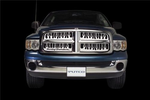 Putco 89252 Flaming Inferno Mirror Stainless Steel Grille