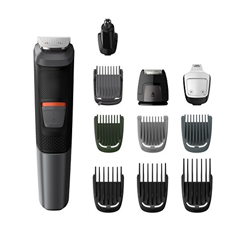 Philips Series 5000 11-in-1 Multi Grooming Kit for Beard, Hair & Body with...