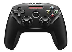 SteelSeries Nimbus - Controlador de juegos inalámbrico, Bluetooth, 12 botones, recargable, (Apple TV / IOS / iPad / iPhone / iPod Touch / Mac, negro