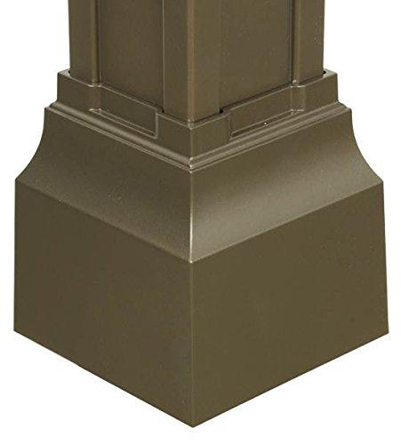 Balmoral Post Base Cuff in Bronze Bronze Post Base Cover