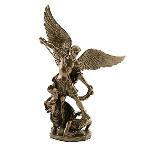 - Veronese Collection Saint Michael The Archangel 4 Inch Bronze Statue